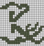 Alpha pattern #4250