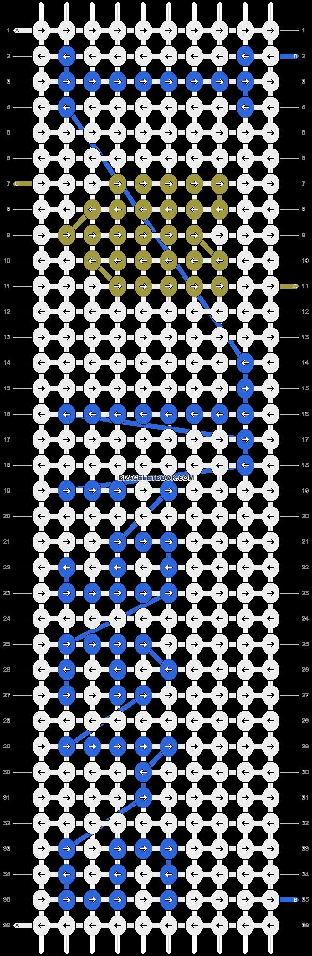 Alpha pattern #4252 pattern