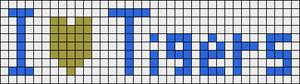 Alpha pattern #4252