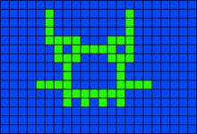 Alpha pattern #4253