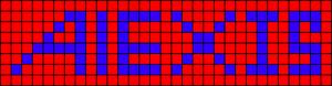 Alpha pattern #4254