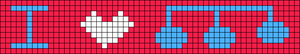 Alpha pattern #4257