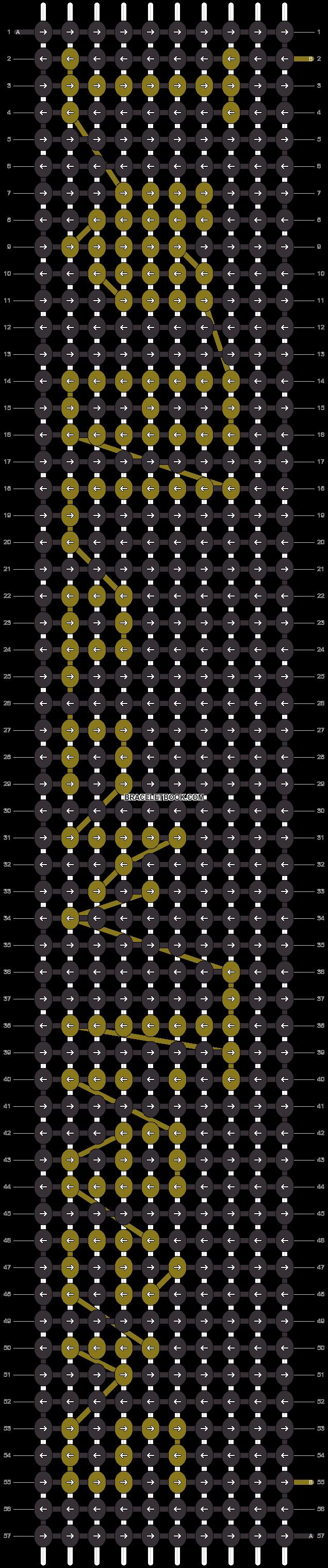 Alpha pattern #4258 pattern