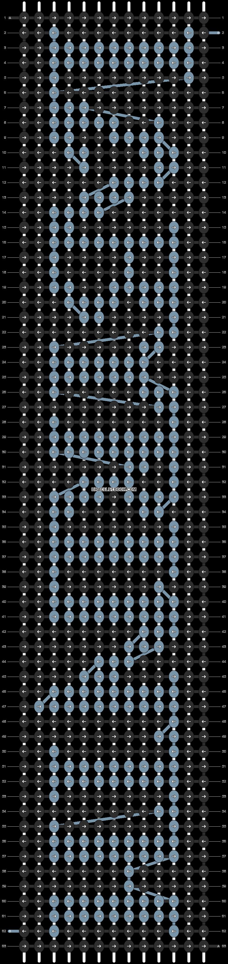 Alpha pattern #4259 pattern