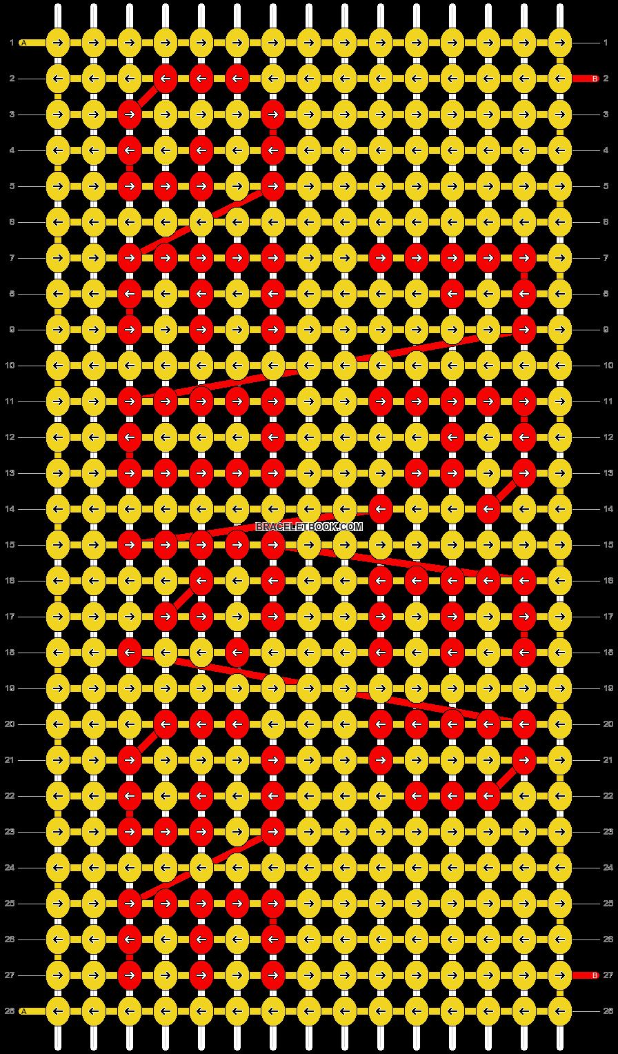 Alpha pattern #4267 pattern
