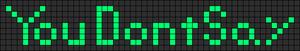 Alpha pattern #4275