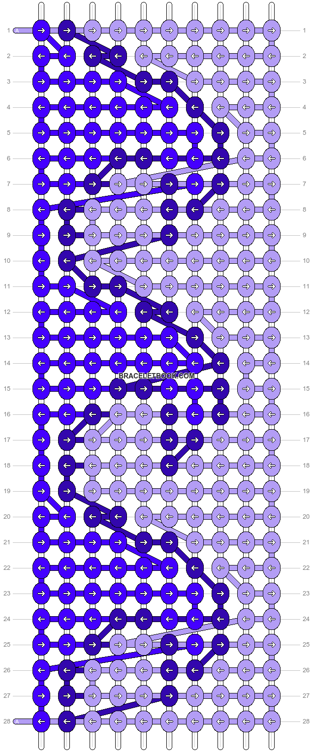 Alpha pattern #4291 pattern