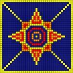 Alpha pattern #4292