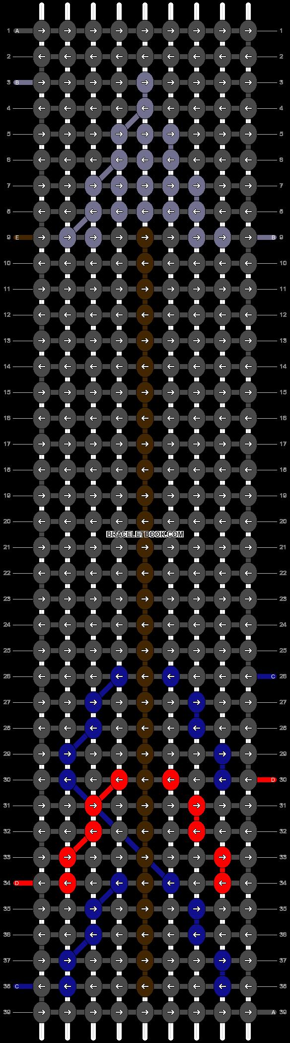 Alpha pattern #4295 pattern