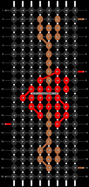 Alpha pattern #4299 pattern