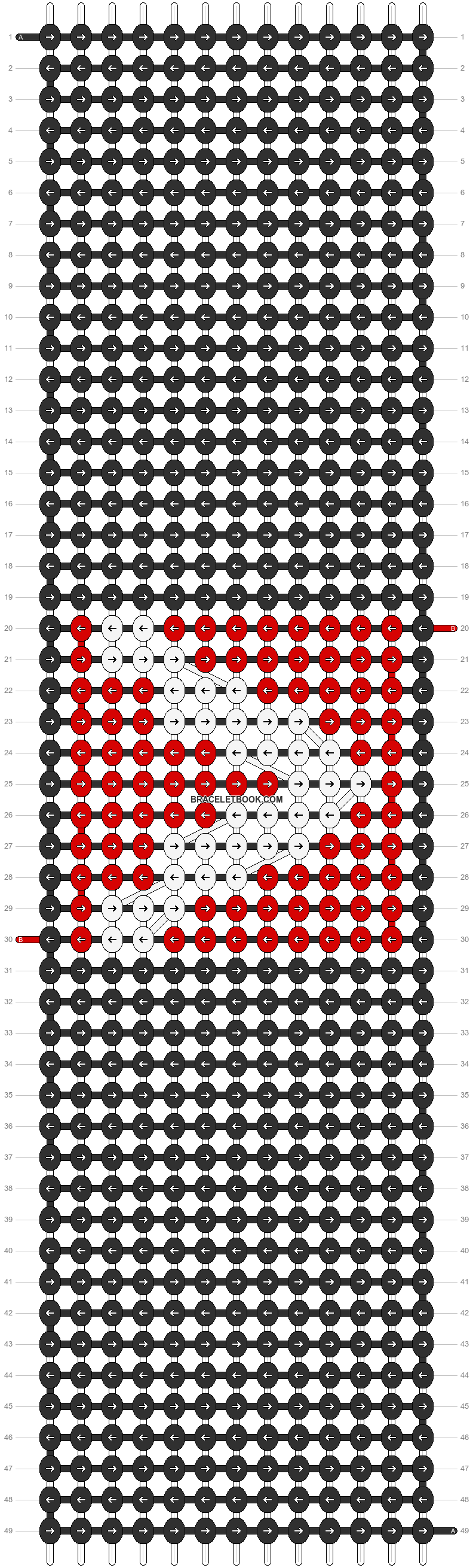 Alpha pattern #4326 pattern