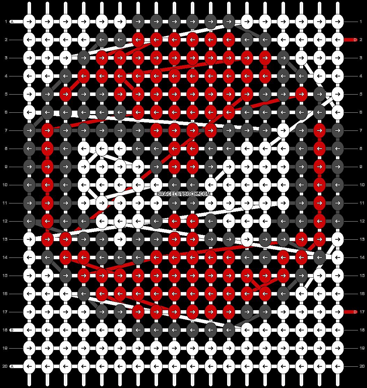Alpha pattern #4345 pattern