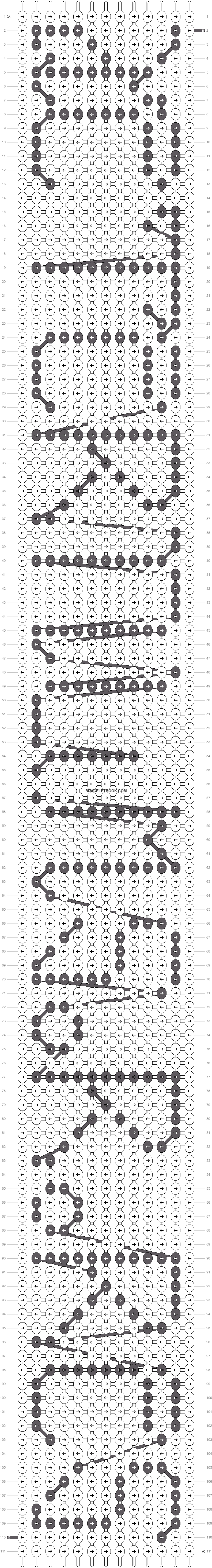 Alpha pattern #4352 pattern