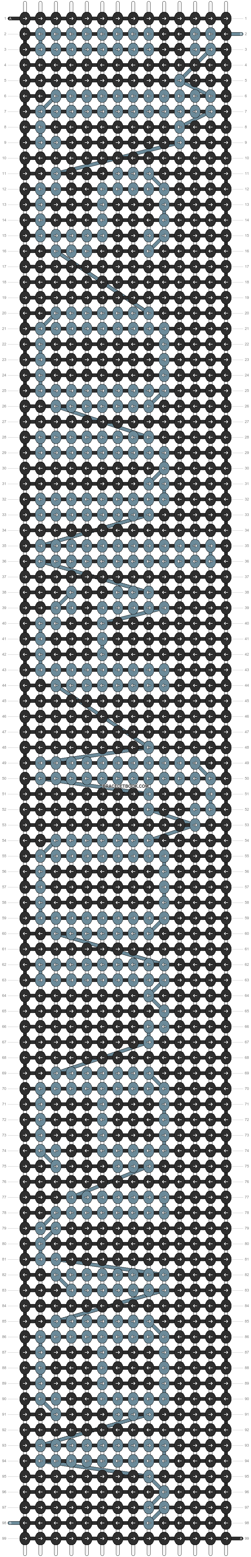 Alpha pattern #4355 pattern