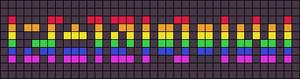 Alpha pattern #4358