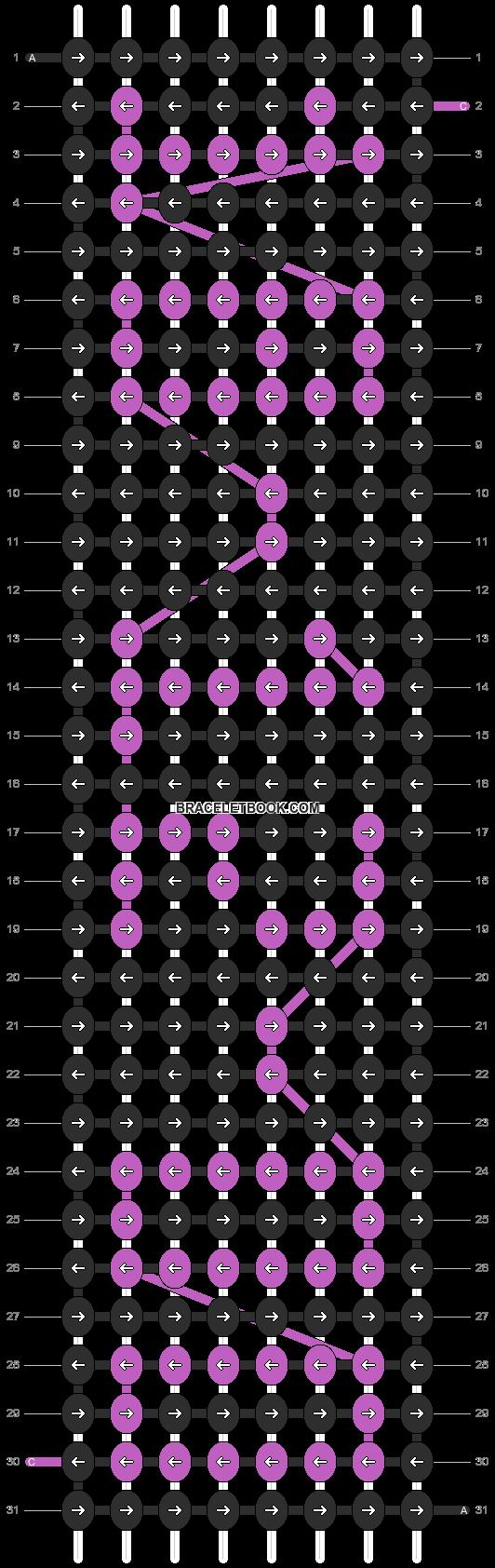 Alpha pattern #4365 pattern