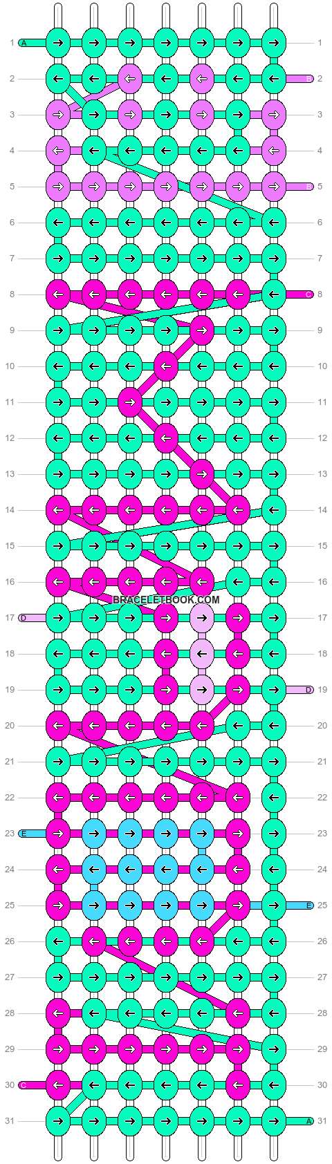 Alpha pattern #4370 pattern