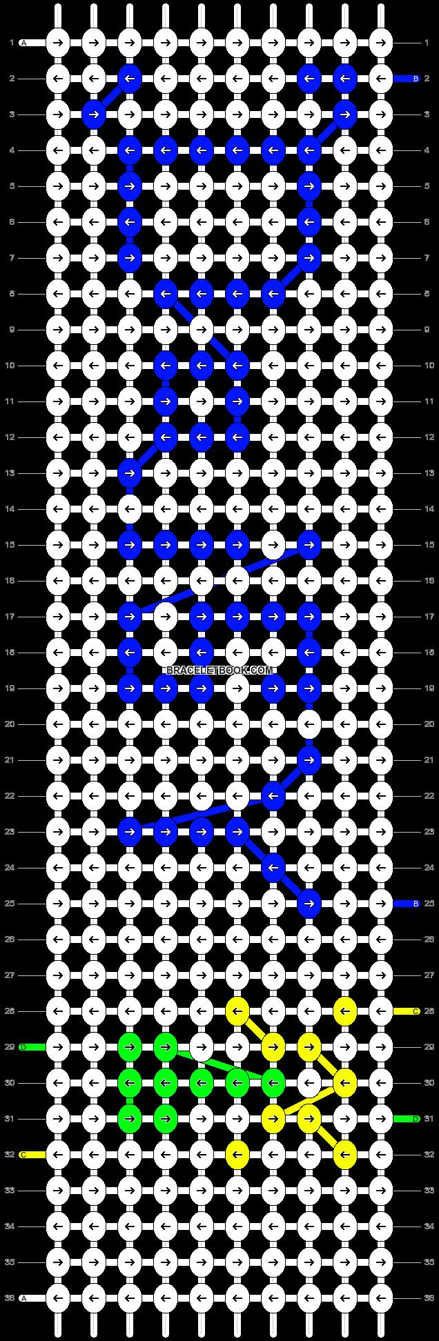 Alpha pattern #4374 pattern
