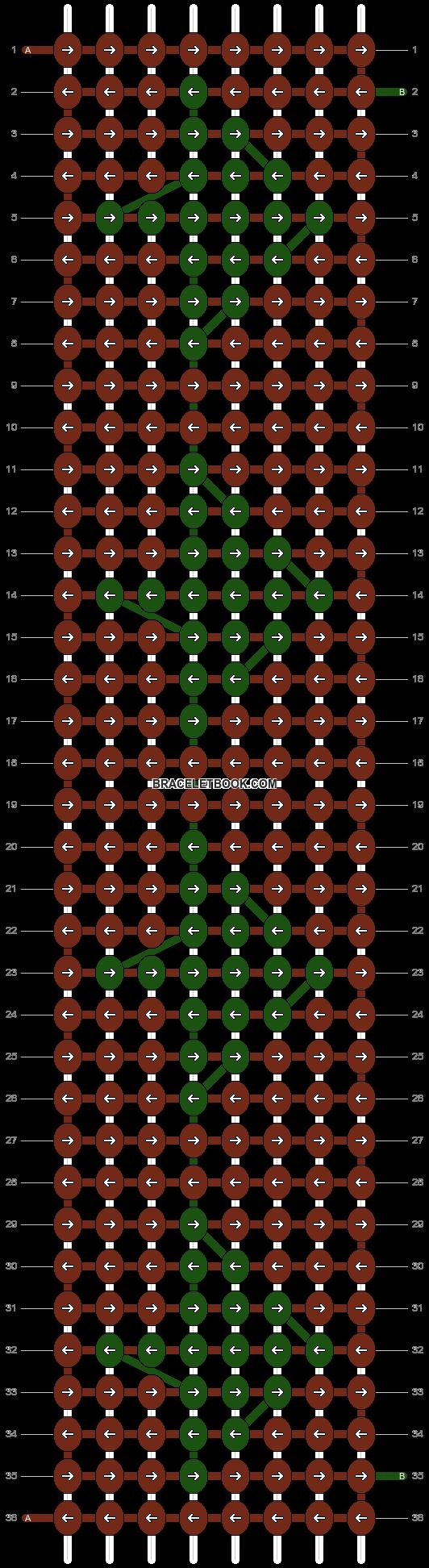 Alpha pattern #4386 pattern