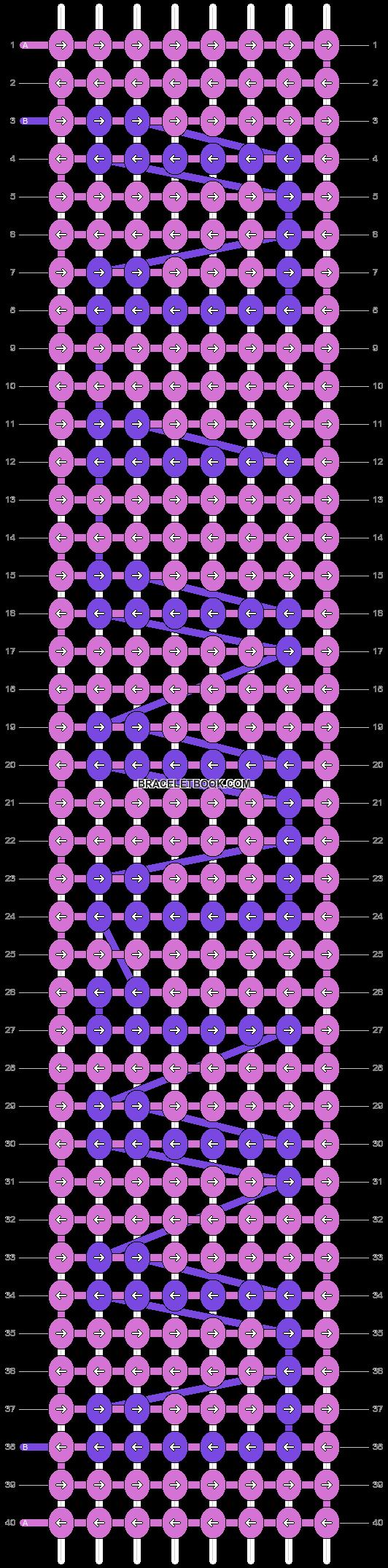 Alpha pattern #4394 pattern