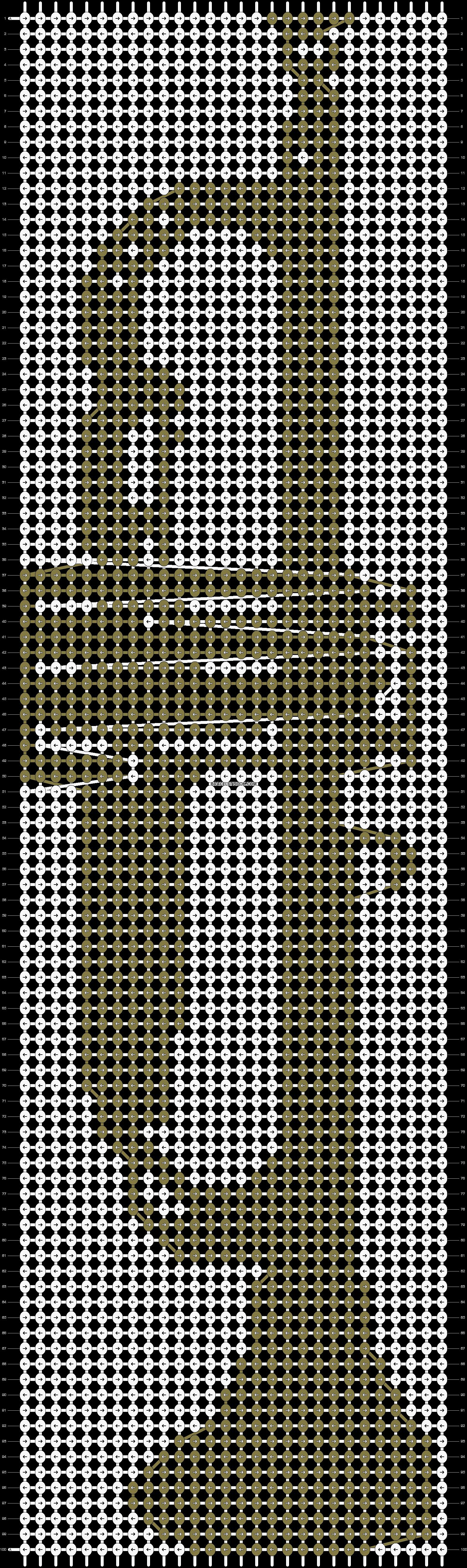 Alpha pattern #4398 pattern