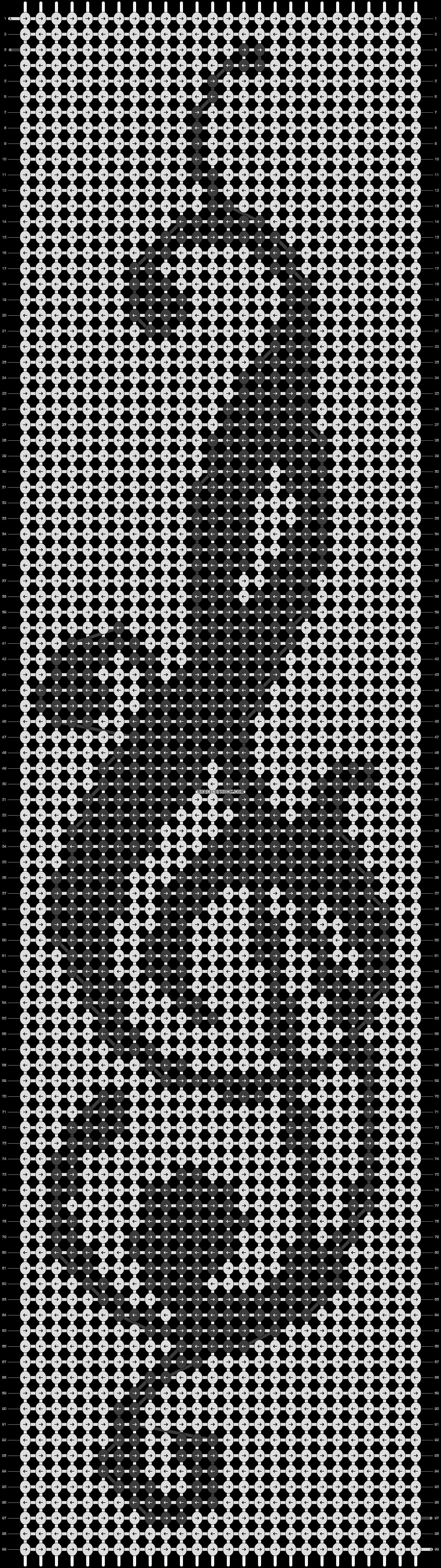 Alpha pattern #4399 pattern