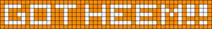 Alpha pattern #4400