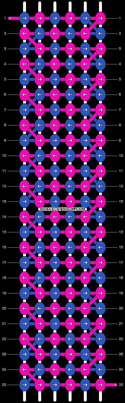 Alpha pattern #4401 pattern