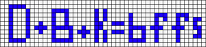 Alpha pattern #4406