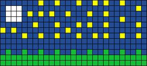Alpha pattern #4407