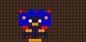 Alpha pattern #4408