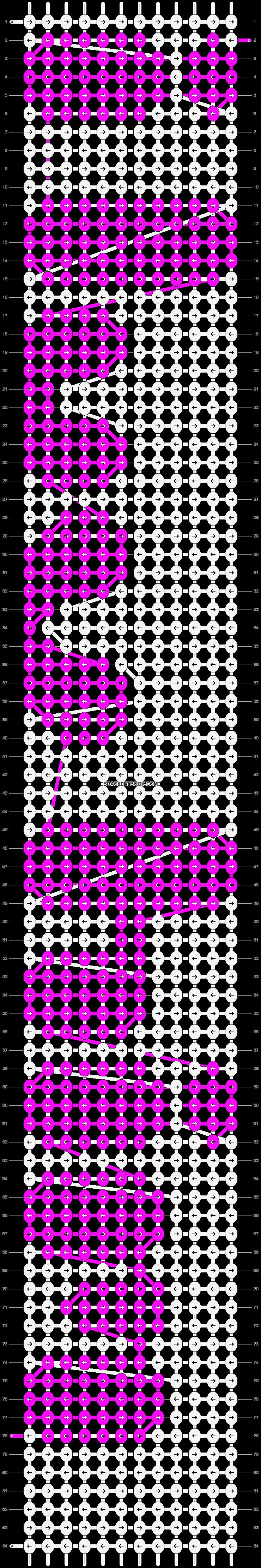 Alpha pattern #4414 pattern