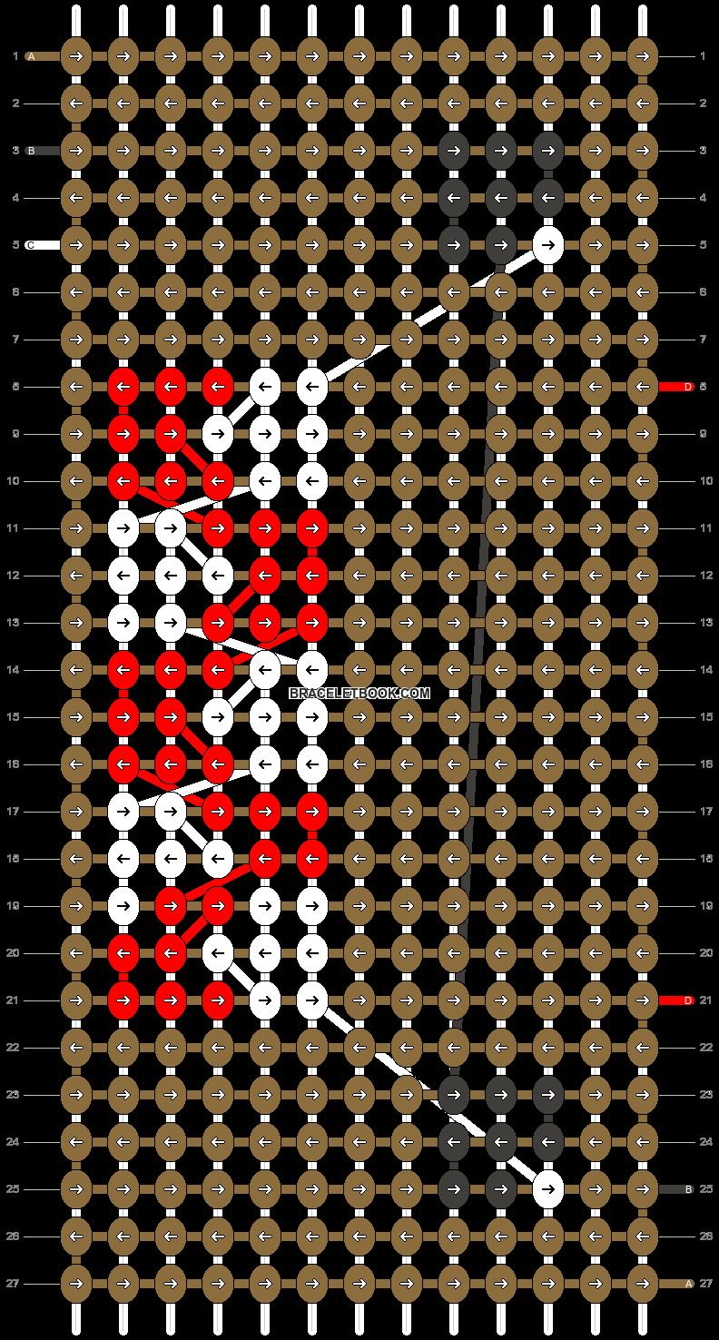 Alpha pattern #4417 pattern