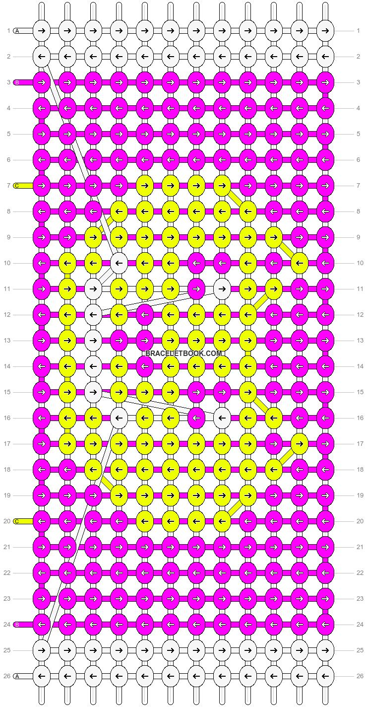 Alpha pattern #4428 pattern