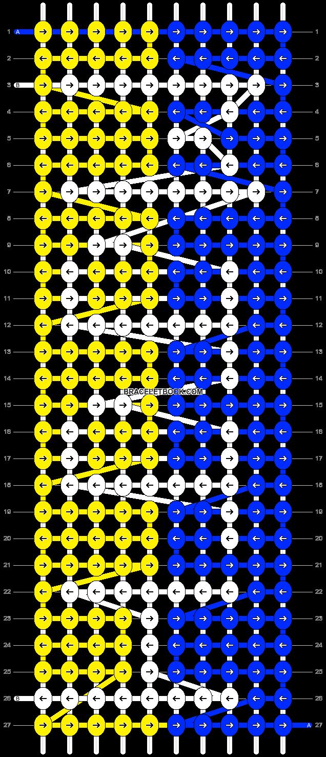 Alpha pattern #4440 pattern