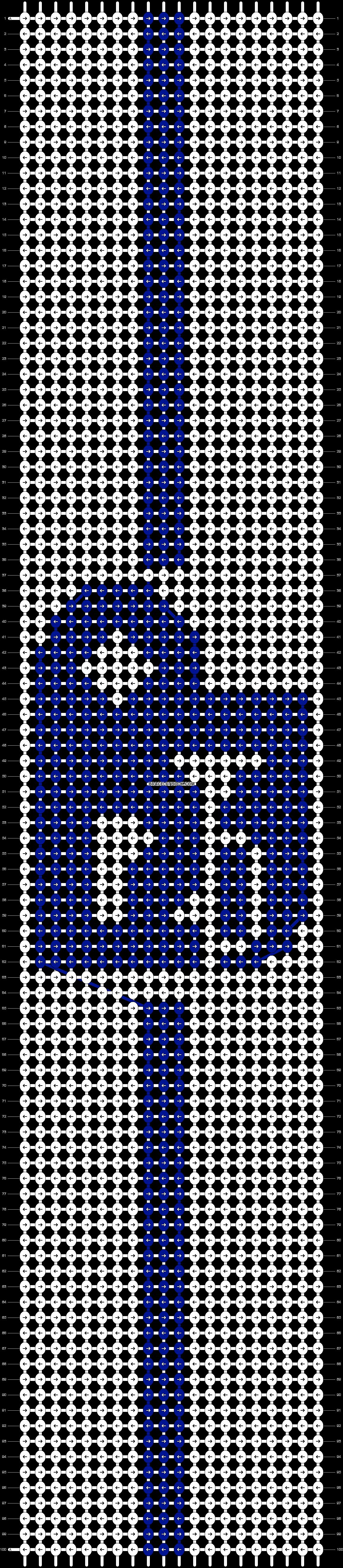 Alpha pattern #4444 pattern