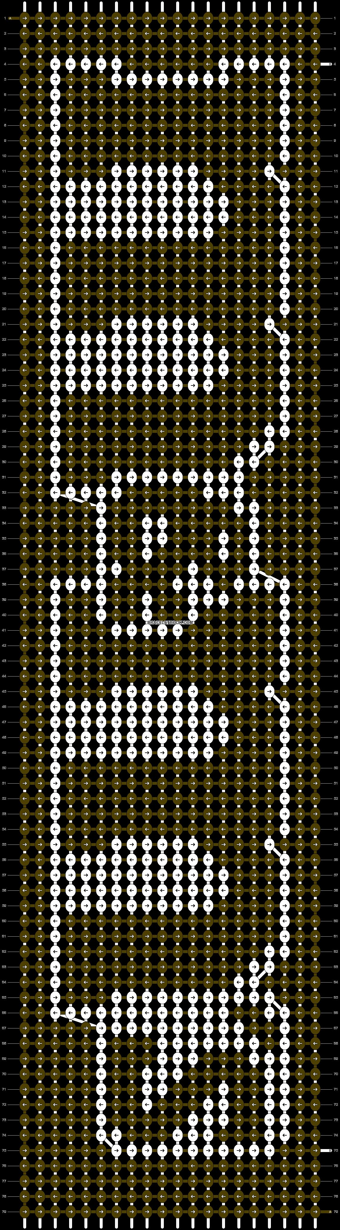 Alpha pattern #4450 pattern