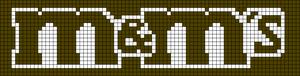 Alpha Friendship Bracelet Pattern #4450