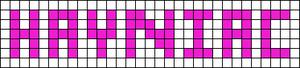 Alpha pattern #4453