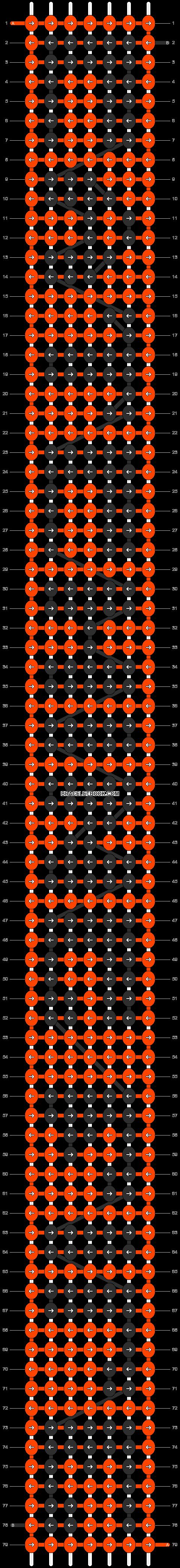Alpha pattern #4456 pattern