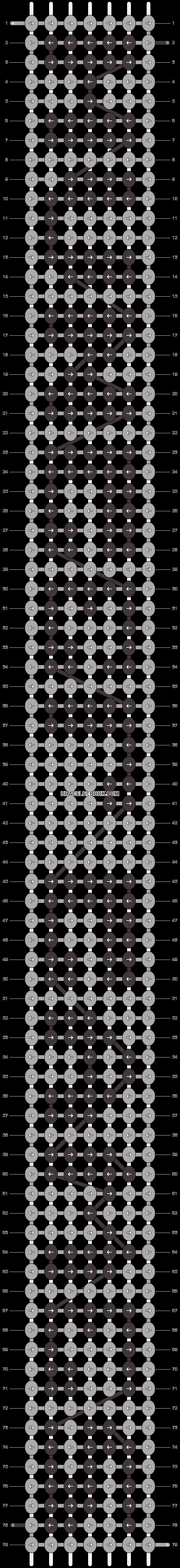 Alpha pattern #4457 pattern
