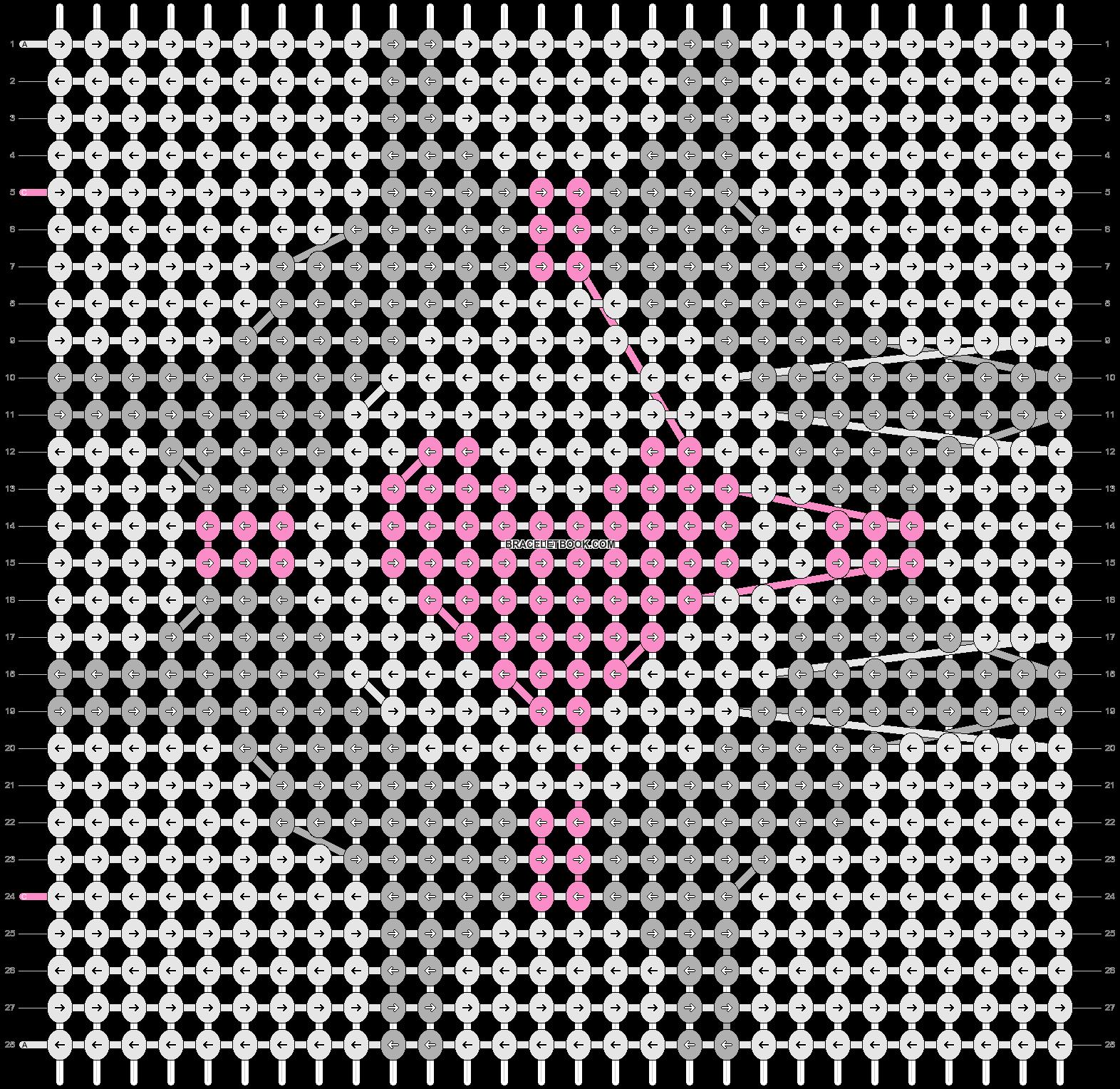 Alpha pattern #4462 pattern