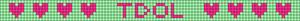 Alpha pattern #4463