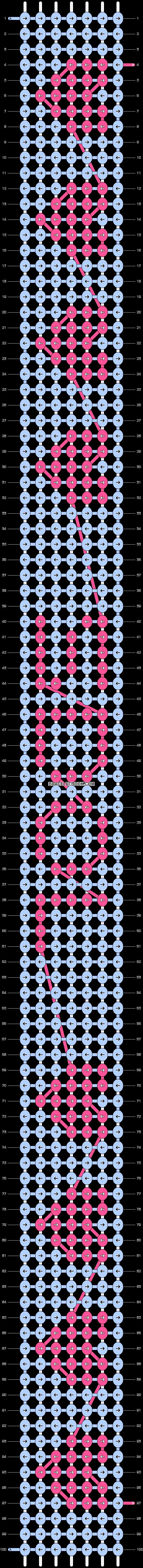 Alpha pattern #4464 pattern