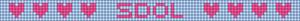 Alpha pattern #4464