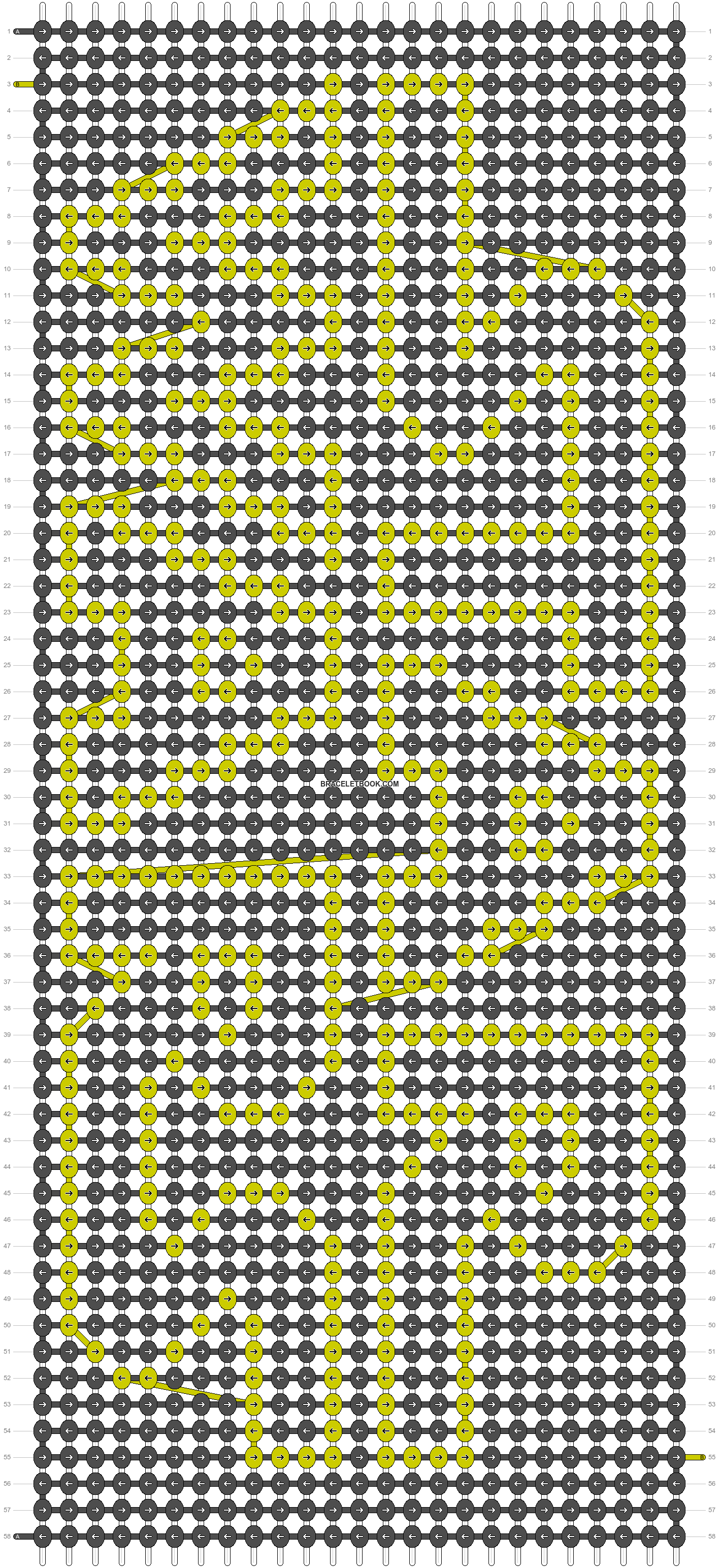 Alpha pattern #4468 pattern