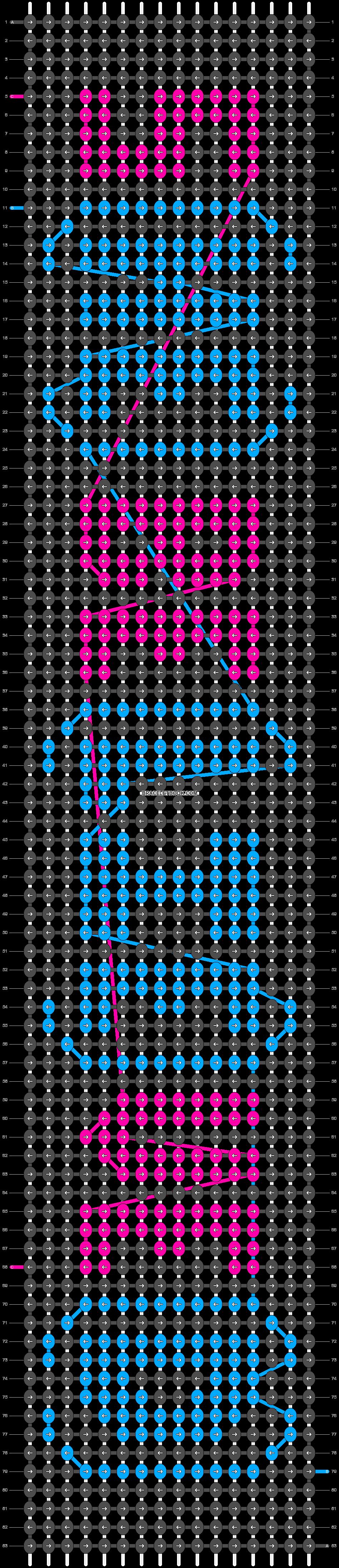 Alpha pattern #4469 pattern
