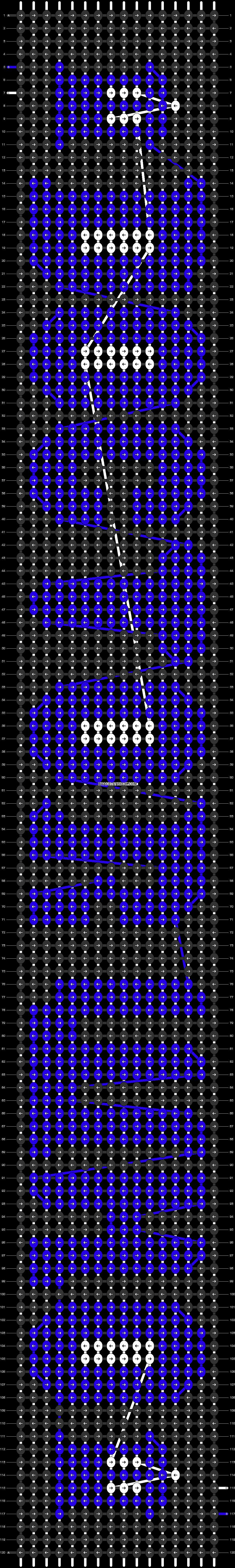 Alpha pattern #4470 pattern