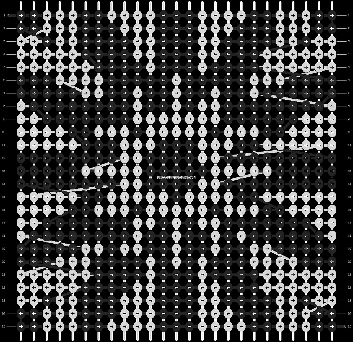 Alpha pattern #4474 pattern