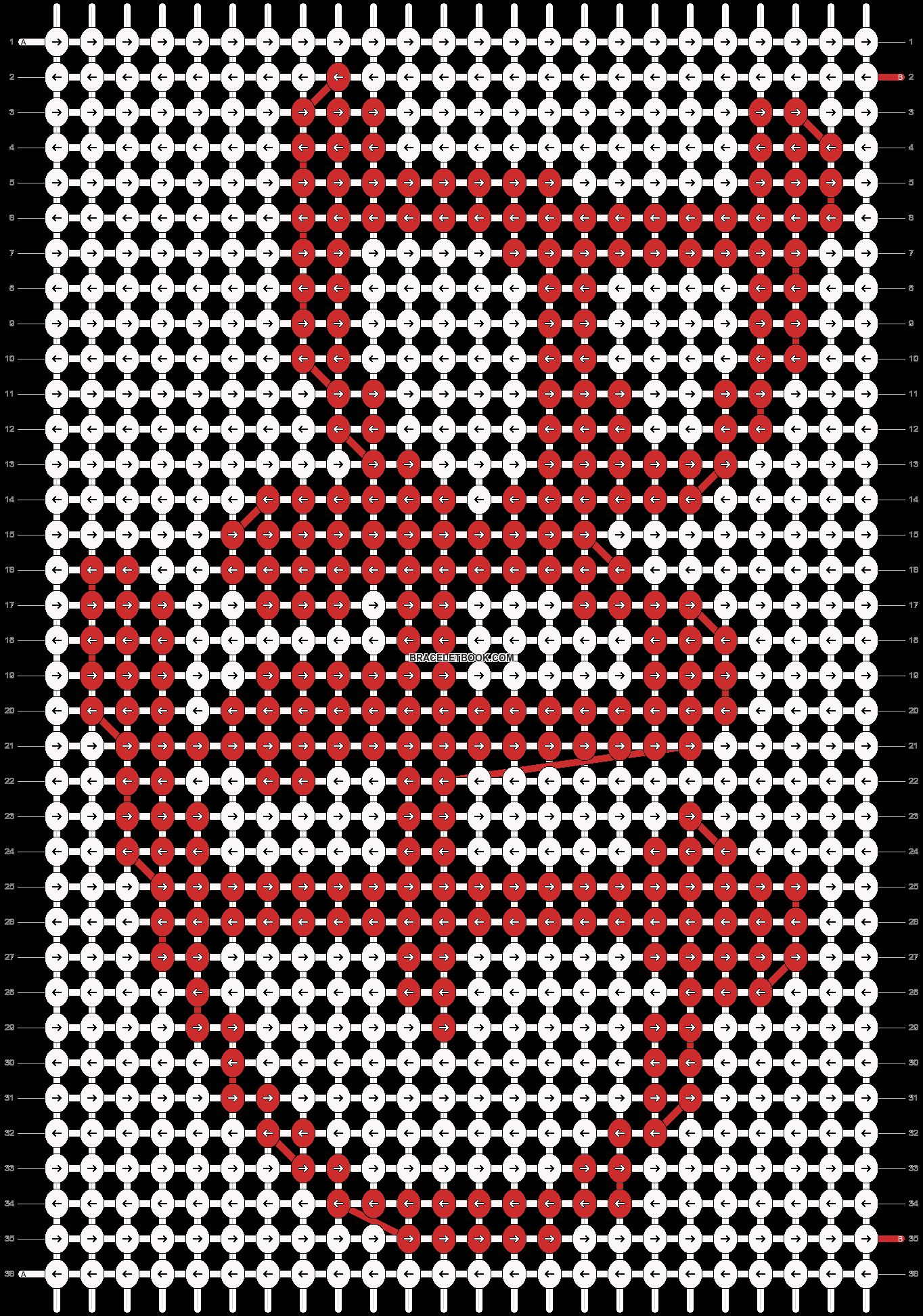 Alpha pattern #4475 pattern